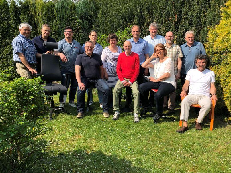 Die Mitglieder des Ergonomiepartner Netzwerkes